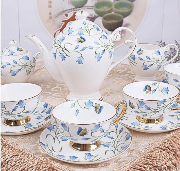 15pcs new design royal bone china ribbed coffee set paper coffe cup - from Alibaba.com