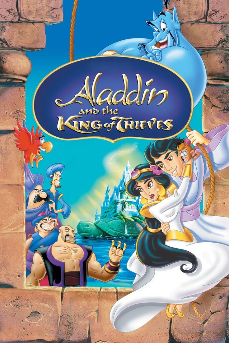Aladdin and the King of Thieves (1996) - Watch Movies Free Online - Watch Aladdin and the King of Thieves Free Online #AladdinAndTheKingOfThieves - http://mwfo.pro/1022476