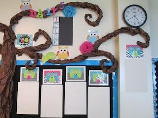 owl themed classroom :)
