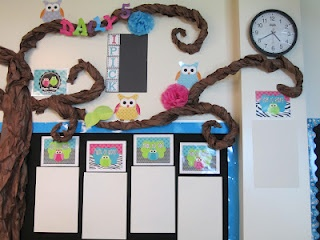 Owl Classroom Decorations | First Grade Glitter and Giggles: Classroom Makeover...