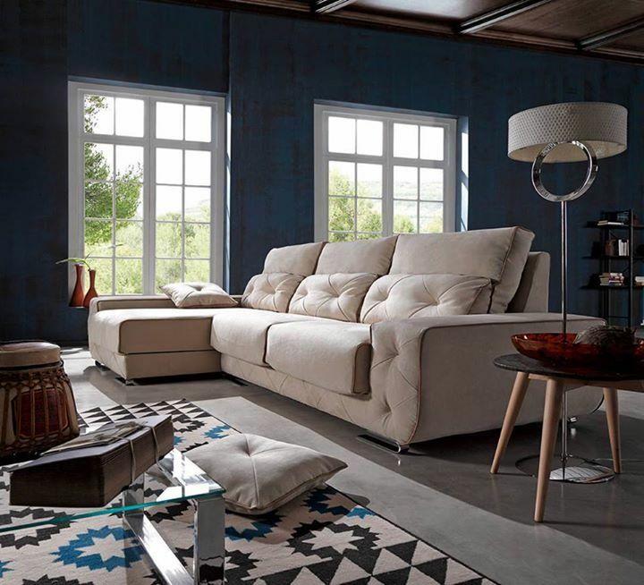 Aquí un modelo de sofá que trabajamos en DeSiesta, lleno de detalles muy elegantes y muy bien diseñados que garantizan una gran comodidad 😍 DeSiesta tú tienda de confianza experta en sofás CÓMODOS y de CALIDAD 👨👩👧👦😴 http://www.desiesta.es/como-elegir-el-mejor-sofa-para-tu-salon/