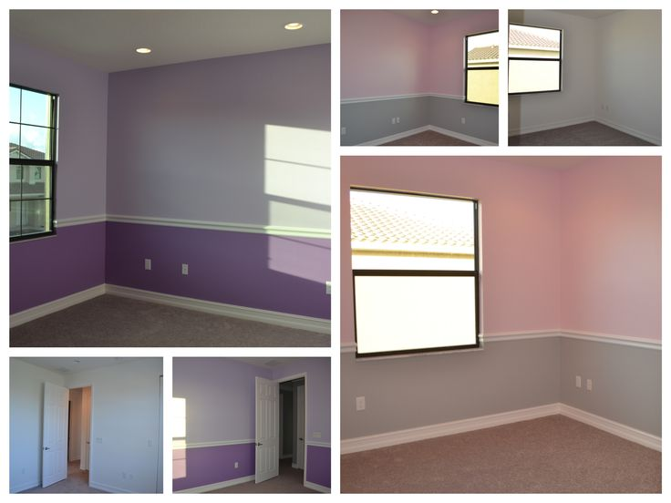 Chair Rail Installation Colors By Sherwin Williams Walls Sw6821 Potentially Purple Light