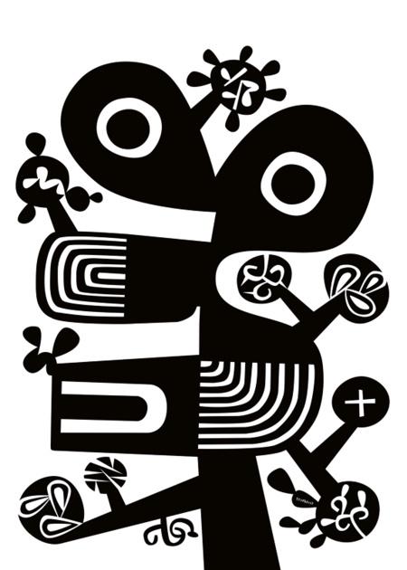'Aoi' - Art Print by Lasse Skarbovik