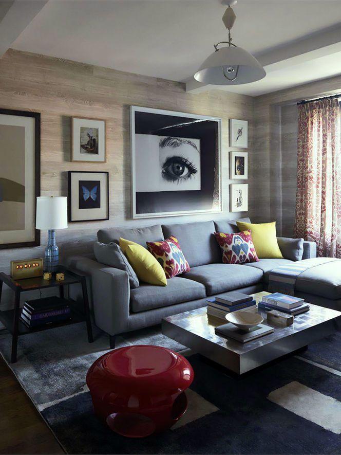 sala de estar / cores / madeira