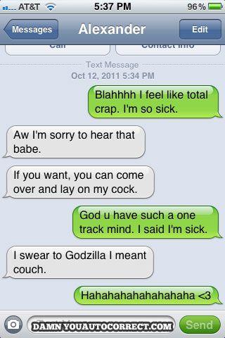 hahahaha: Funny Autocorrects Texts, Funny Pictures, Auto Correct Texts, Swear, Godzilla, Funny Stuff, Humor, Sick Girlfriend