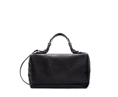 Image 1 of CHAIN BOWLING BAG from Zara