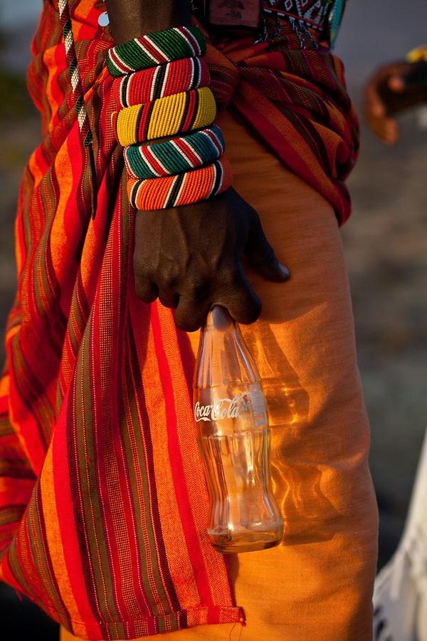 Africa | 'Coke is it'.  Samburu. Kenya | © Robin Moore