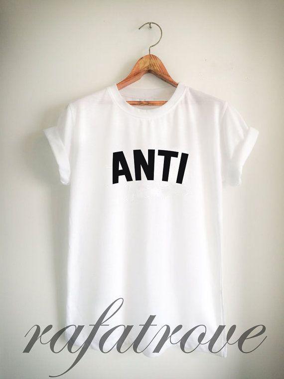 Rihanna Shirt  Anti Shirt Rihanna Tour Tshirt Rihanna by RafaTrove