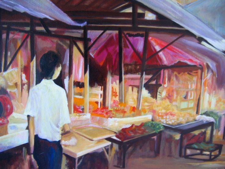 Brian Alexander. Kuta market.# Kuta,Bali.#markets.#Indonesia.#colour.