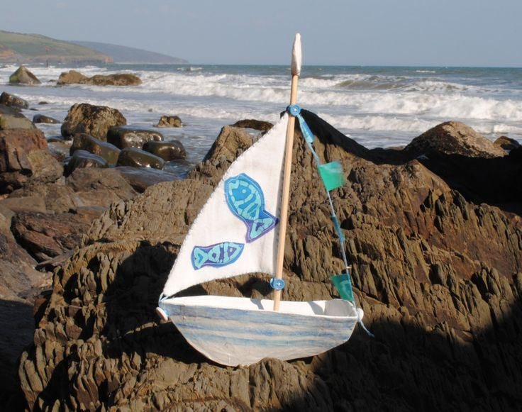 """Handmade Sailing Dinghy - """"Matilda"""" by DecopatchDirect on Etsy"""