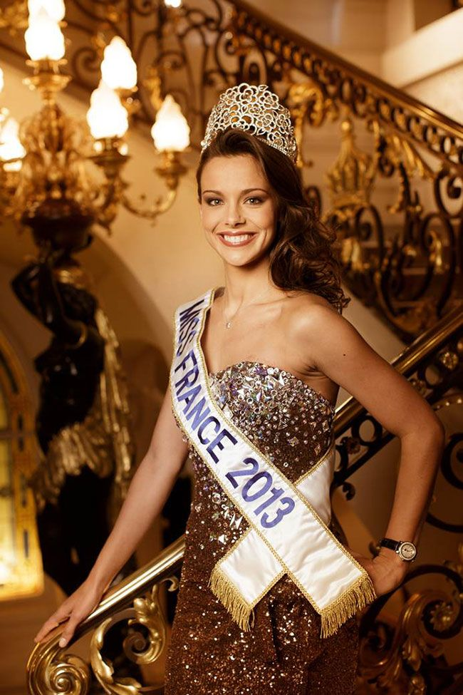 Miss France 2013 wearing a Charriol Parisii watch  Miss France 2013 et sa montre Charriol Parisii