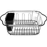 Amazon.com: Expandable Dish Drainer Color: Black: Home Improvement