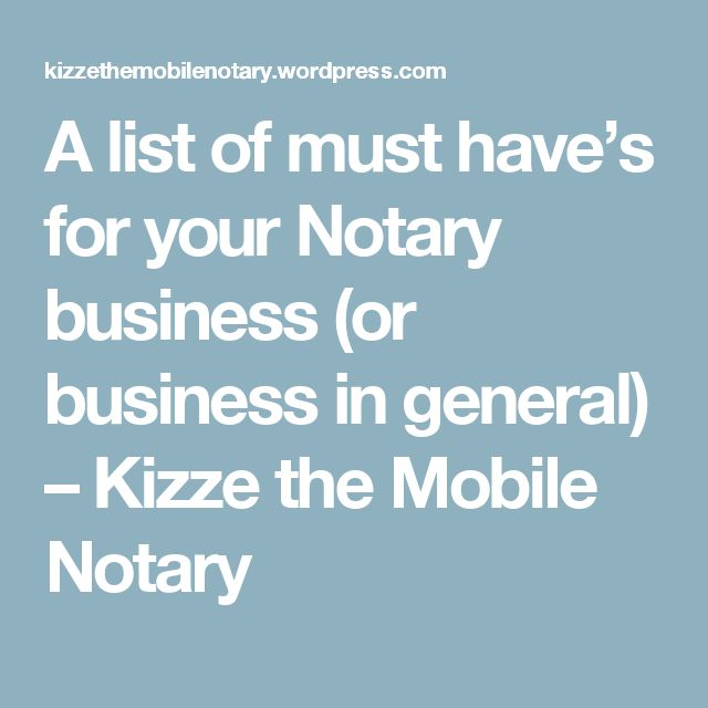 64 best Notary images on Pinterest Business ideas, Extra money and