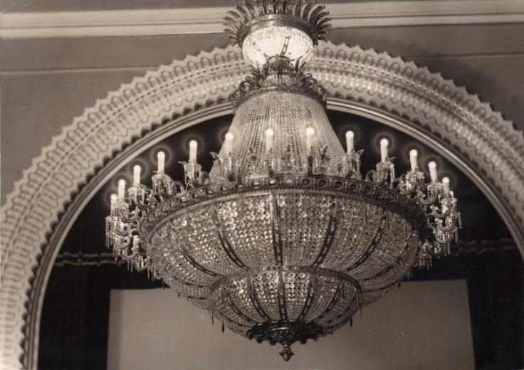 Años 50 - Lámpara del Cine Savoy.
