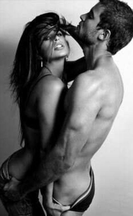 black horny couple
