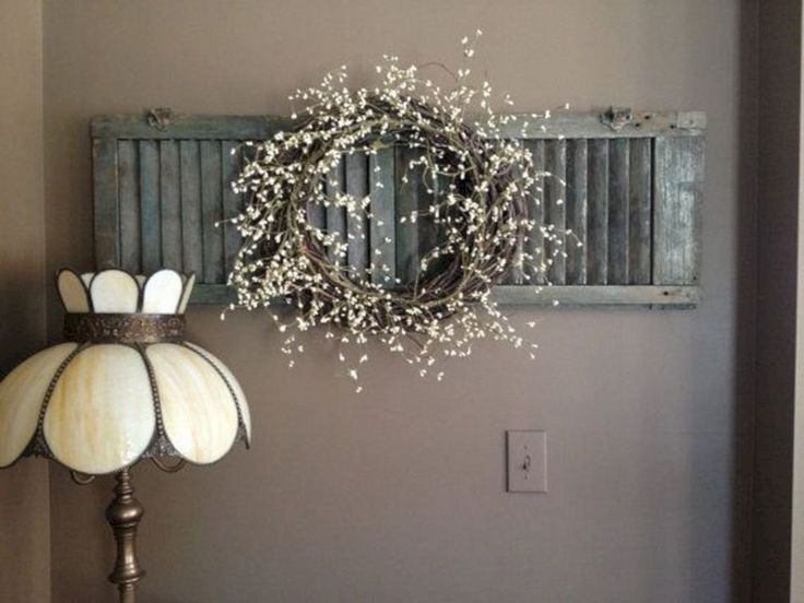 25 best rustic interior shutters ideas on pinterest - Shutters for decoration interior ...