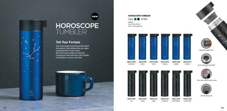 Lock & Lock Tumbler Horoscope Series, Capacity 400ml