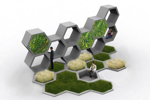 ALLPE Medio Ambiente Blog Medioambiente.org : ¿Diseñaron las abejas este jardín?
