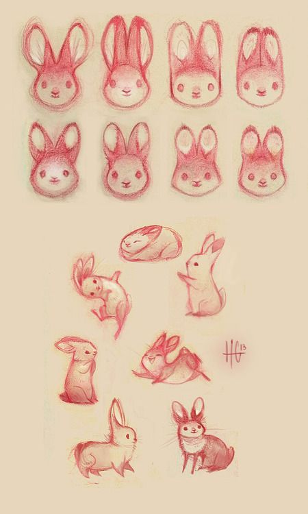 Bunnies by Heather