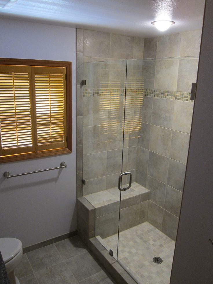 Small bathrooms with walkin showers download wallpaper for Small bathroom design this site