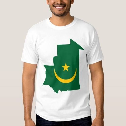 (Mauritania Flag Map T-shirt) #Africa #Agawe #G224Nnaar #Mauritanie #Moritani #Mūrītānyā #Murutaane #Nouakchott #Patriot is available on Funny T-shirts Clothing Store   http://ift.tt/2ddM84a