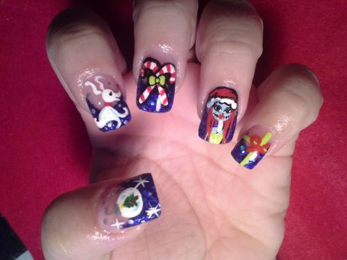 246 best whatever images on pinterest christmas nail art disney nail art beth ericksen nails courtney cantwell ladies room hanford ca prinsesfo Choice Image
