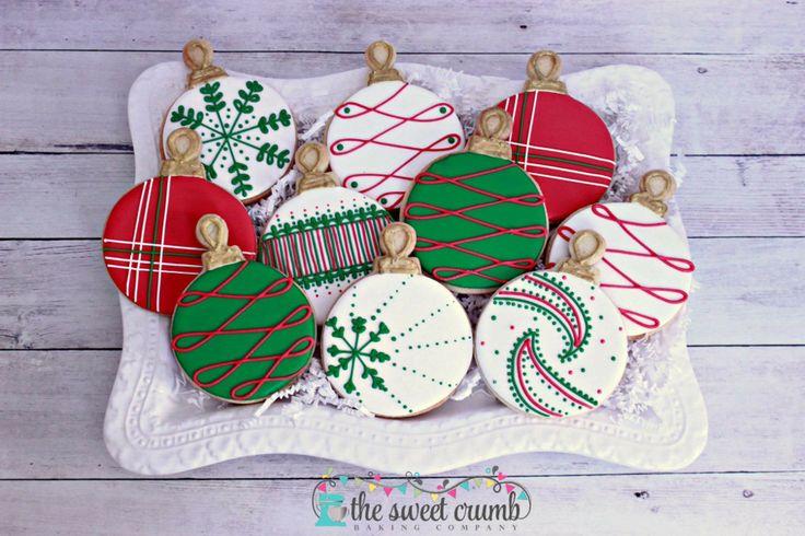 The Sweet Crumb Christmas Ornaments