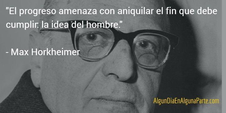 """7 julio 1973 #TalDíaComoHoy falleció el filósofo y sociólogo alemán Max Horkheimer, conocido por su """"Teoría crítica"""""""