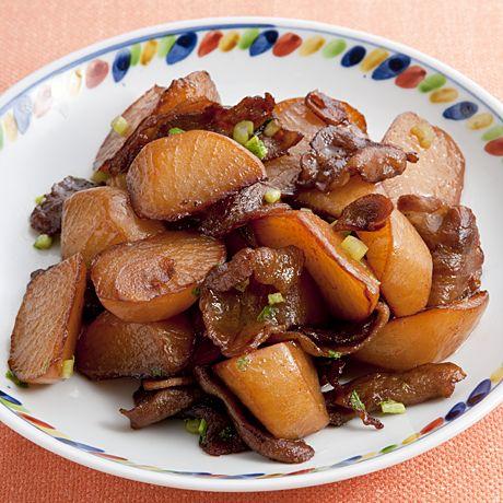 豚バラと大根の炒め煮 | 脇雅世さんの煮ものの料理レシピ | プロの簡単料理レシピはレタスクラブニュース