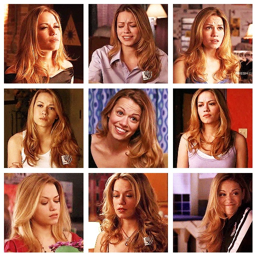 Haley James...favorite hair and favorite season :)
