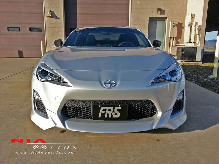 Want to give your FR-S an aggressive look while protecting your headlights from the sun? NIA FR-S eyelids do just that. Made from high heat resistant plastic. Built to with-stand the heat from the sun and your HID'S, without warping or melting.