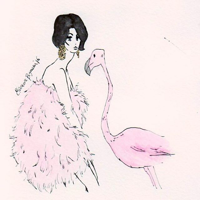 Love love love vintage style! #parisienne #catherinedeneuve #vogue #harpersbazaar #vintagefashion #pink #fashioninsta #fashionillustrator #illustration #art #paris #instafashion #instagood #instaart #fashionblogger #fashionillustration #hautecouture #fw #weekend #fashionsketch #pet
