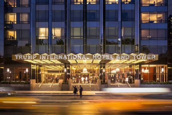 Trump International Hotel And Tower New York. 5 Star Elegance-Panoramic views, an indoor pool and upscale spa and dining options next to Central Park make..