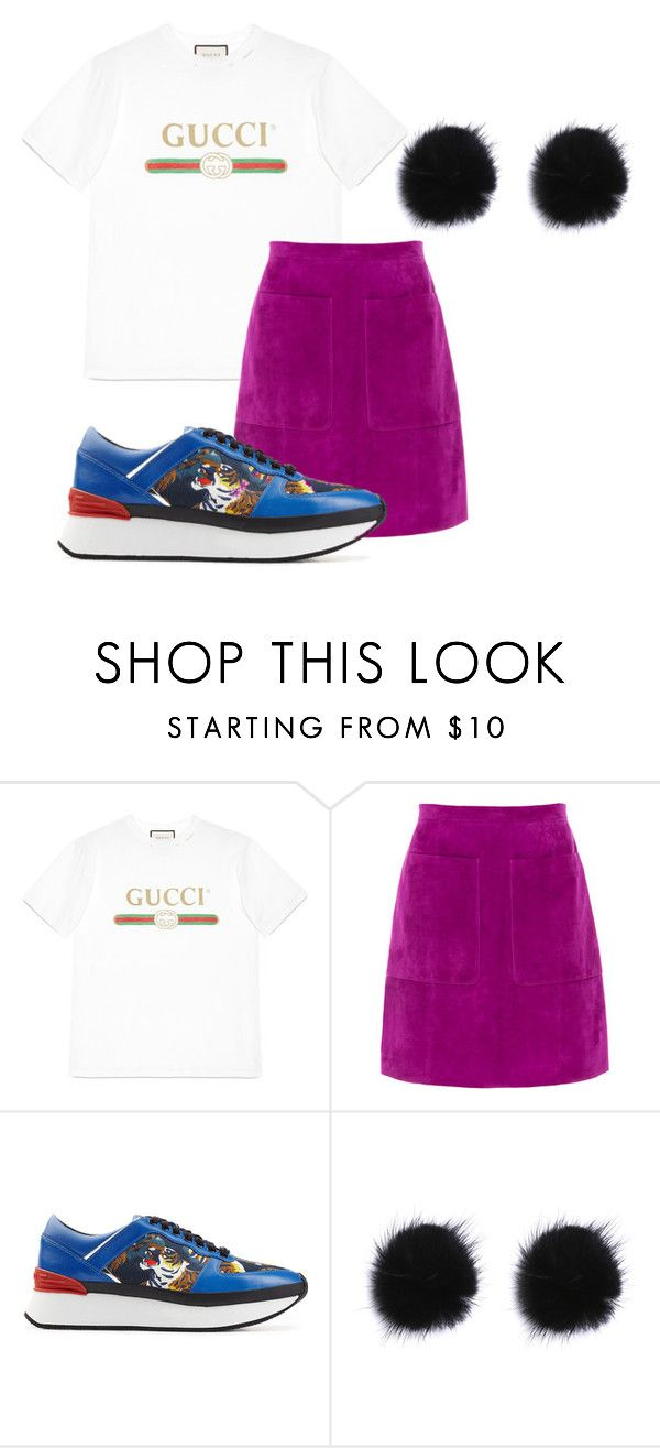 """""""Untitled #26"""" by dxrcx on Polyvore featuring Gucci, L.K.Bennett, Kenzo, kenzo and gucci"""