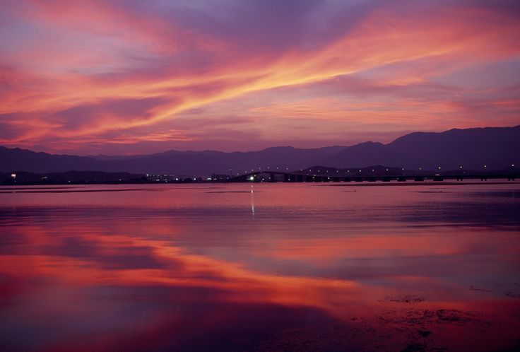 夕焼けの琵琶湖(Biwako)【絶景NIPPON】- ovo #琵琶湖 #LakeBiwa