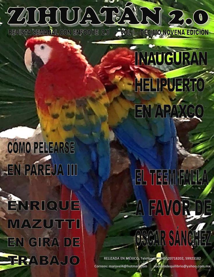 Zihuatán 2.0 19  Revista semanal que trata fundamentalmente temas de política del Estado de México con una visión de equidad de género e inclusión. PolItica, polIticos, estado de mexico, distrito xx, Toluca, gobernador, municipio, tonanitla, jaltenco, Nextlalpan, Tequixquiac, hueypoxtla, apaxco, san juan zitlaltepec, Zumpango, feminismo, equidad, zihuatan http://www.desarrolloymovimientoenequilibrio.pagina.gr
