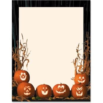 103 best Halloween Stationery images on Pinterest Paper - background templates for microsoft word