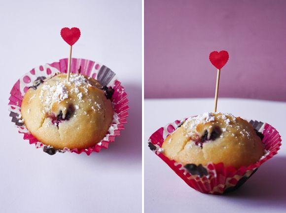 Dusiowa kuchnia pyszne przepisy: Muffinka od serca.