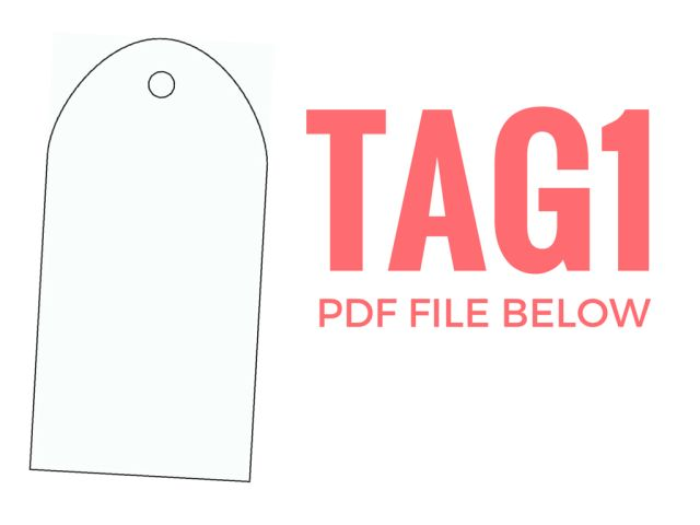 gift tag template free