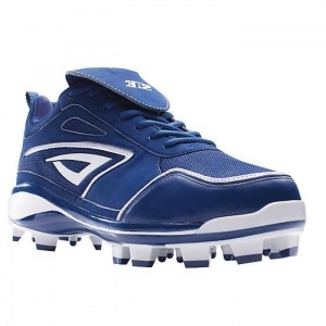 3n2 Rally TPU Softball Cleats Womens Blue Leather - ONLY $64.99