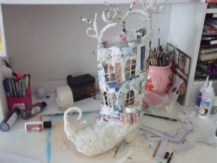 doll house in progress