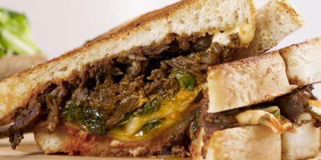 Bulgogi & Kimcheese Sandwich