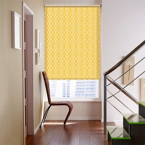 Amazing Eton Gold Roller Blind