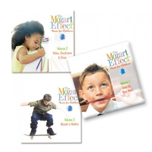 Studies show that classical music has a powerful effect on intellectual and creative development. The Mozart Effect® and The Mozart Effect for Children, has some of the best of Mozart's music to stimulate and inspire young minds, and help develop the IQ. The music on each of these recordings has been carefully selected according to tempo, key signatures, color and texture in order to provide a rich listening and learning experience for all children.