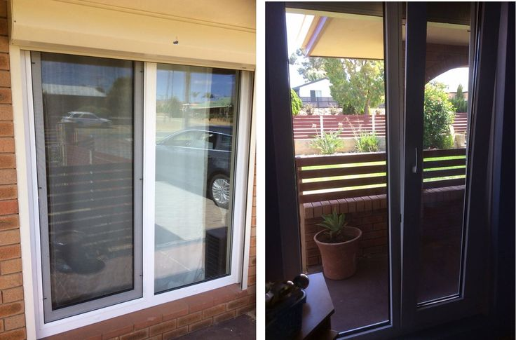 Another install complete, window conversion to French doors and some full height tilt and turn windows, we did tilt and turn windows as they open inwards, the roller shutters already in place prevented any outward opening windows  Another full house completed, another happy customer. FREE Quotes 1800 822 207, for January install. #Perth #upvcwindows #ADG goo.gl/eiTZwp