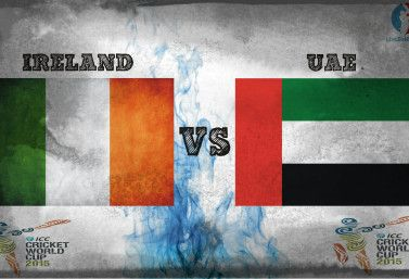 Ire Land Vs UAE Match Live Score, Live Streaming Update and Teams Preview | sixteen Match of ICC World Cup 2015 Preview