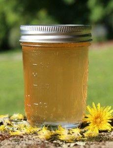Traditional Scandinavian Dandelion Apple Syrup Recipe\
