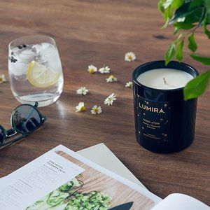 We're so excited to announce our collaboration with @distillerybotanica - the beautiful new Tonic Of Gin candle is inspired by balmy evenings in Australia. A delicate combination of Murraya, Chamomile and Juniper - our Tonic Of Gin will have you yearning for Australian summer! Available now online and select boutiques. ❥