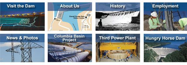 Grand Coulee Dam, Bureau of Reclamation, Pacific Northwest Region