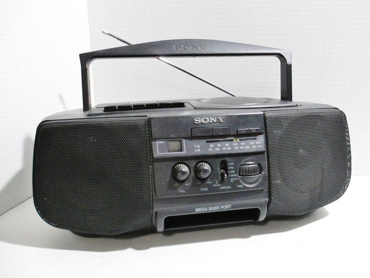 Sony CFD-V10 Boombox AM FM Stereo Radio CD Cassette Player Recorder AC or DC #Sony..... Visit all of our online locations..... www.stores.ebay.com/ourfamilygeneralstore ..... www.bonanza.com/booths/Family_General_Store ..... www.facebook.com/OurFamilyGeneralStore